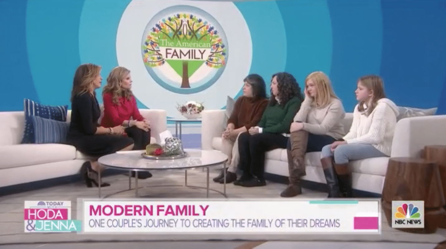 The Sugarman Family on the Today Show